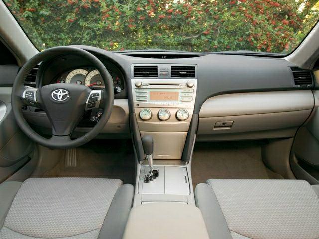 Toyota camry 2008 interior
